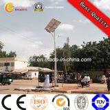 High Quality Aluminum Street Garden Route solaire pôle d'éclairage