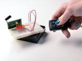 Keyfob 4 Buttons RF Remote Control con 315MHz (YS-360)
