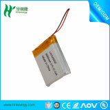 3.7V batterie 3000mAh rechargeable de la batterie lithium-ion 105050