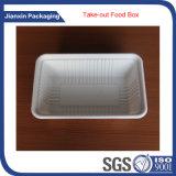 Recipiente de alimento plástico da bandeja para frutas ou carne ou vegetais