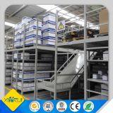 Estante de múltiples capas del almacenaje con final de la capa del polvo