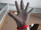 ステンレス鋼の金網の手袋