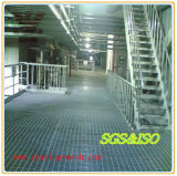 DIP caliente Galvanizing Steel Grating para Drainage Channel