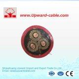 De Rubber Geïsoleerdek Kabel van het silicone met multi-Kernen
