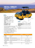 도로 롤러 공장 12 톤 두 배 드럼 도로 쓰레기 압축 분쇄기 (YZC12J)