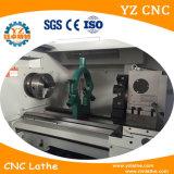 Torno inclinado del CNC de la base de Fanuc de torno del CNC