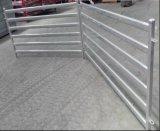 Сверхмощные 6 овальных панелей скотин лошади рельса/используемой панель Corral