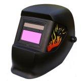 Nuovo casco di sicurezza per il saldatore che usando energia solare