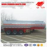 Do aço inoxidável do transporte do petroleiro reboque líquido corrosivo Semi