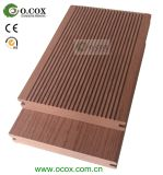 Decking WPC твердого Decking WPC напольного деревянный пластичный составной