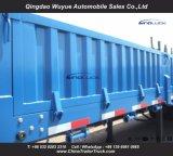 remorque de mur latéral de remorque de cargaison de 12.5m semi avec 3 essieu et frontière de sécurité de côté