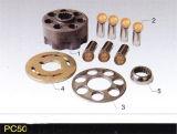 Pièces de rechange hydrauliques de pompe à piston de Komatsupc50/PC30-7 et pièces de réparation