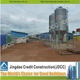 Struttura d'acciaio chiara galvanizzata di Pheasantry dell'azienda agricola