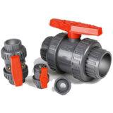 Qualität PVC-einzelner Anschluss-Kugelventil-China-Lieferant