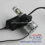 Jogo do farol do feixe do diodo emissor de luz Hi/Low do carro Xhp70 do CREE de G8 H13 36W 6000lm