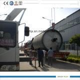 Exporté vers le pneu de pyrolyse du Bangladesh pour huiler réutiliser la machine