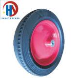 고품질 고무 바퀴 손 트롤리 타이어