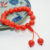 Joyería Healthy Care germanio pulsera de la cabeza de TMB-018 Red Hot Buda