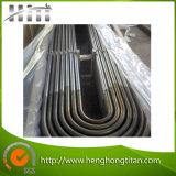 tube sans couture d'acier inoxydable de coude en U de 304 /316