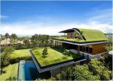 가연 광물에 근거하는 방수 처리 지붕용 자재