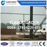 Almacén/taller prefabricados industriales chinos de la estructura del marco de acero