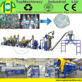 De Lijn van het Recycling van de Fles van het Water van de hoge Capaciteit voor HDPE van het Huisdier pp van de Was Fles met de Separator van de Zeeftrommel