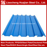 Il colore ricoperto o ha galvanizzato lo strato d'acciaio ondulato duro pieno del tetto