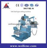 고품질 Xk7150 침대 유형 CNC 축융기