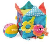 Brinquedo educacional enchido luxuoso do bloco do bebê da fonte da fábrica