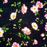 tela de rayon do projeto da impressão de 30s Rosa para vestuários das mulheres