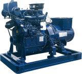 배, 배, CCS/Imo 증명서를 가진 배를 위한 20kw/25kVA Weichai Huafeng 바다 디젤 엔진 발전기