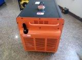 generatore diesel silenzioso raffreddato ad aria portatile 5kw