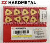Zhuzhou Zz 두 배 색깔 텅스텐 탄화물 CNC 삽입