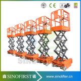 piattaforme di lavoro mobili della piattaforma aerea mini 4m dell'elevatore di 3m
