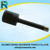 Des morceaux de foret de faisceau de diamant de Romatools des morceaux de Pin pour la pierre, béton, en céramique - mouiller l'utilisation