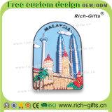 말레이지아 관광객 기념품 제품 선전용 선물 PVC 냉장고 자석 (RC-MA)