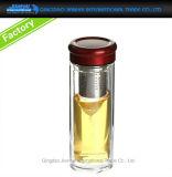 Duurzame het Drinken van het Glas van de Kruik van de Maker van de Thee van het Glaswerk Fles met Filter