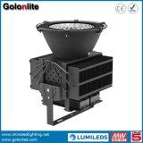 Projecteur imperméable à l'eau de l'éclairage extérieur économiseur d'énergie DEL de l'aluminium 200W 300W 400W 500W de haute performance