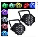 6PCS/18PCS 4 em 1 luz impermeável Full-Color da PARIDADE para a luz da música da lâmpada do partido do clube