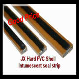 Fire Door를 위한 단단한 Shell Fireproof Intumescent Smoke Stopping Seal Strip