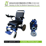Light pieghevole Power Wheelchair per The Elderly e Disabled People