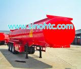 Tri-Welle chemischer flüssiger Tanker-halb LKW-Schlussteil (HTC9400GHY)