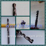 De stevige Bit van de Boor van de Draai van het Carbide met Intern Koelmiddel