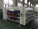 Máquina que ranura automatizada llena de la impresión acanalada de los rectángulos del alimentador del borde de ataque