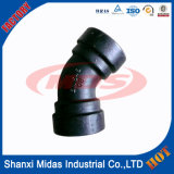 Ductile Fonte Di long rayon Socket Weld 180 degrés Elbow / Bend pipe