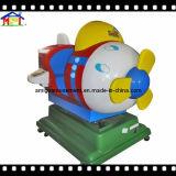 MiniVliegtuig van de Rit Kiddie van de Machine van het Spel van de glasvezel het Elektrische