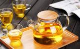 Tableware чайника боросиликатного стекла сопротивления жары высокий для оптовика