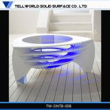 Projetos modernos da mesa de centro da sala de visitas da forma (TW-MATB-007)