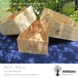 Hongdao modificó el rectángulo para requisitos particulares de madera, _D de empaquetado de madera grande del rectángulo de la venta al por mayor