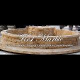 De antieke Pool van de Travertijn voor Decoratie mpl-1001 van de Tuin